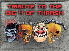 Tribute to the BIG4 of Thrash